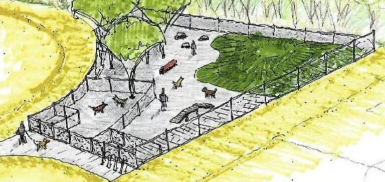 Projekt Park s výběhem a prvky pro psy