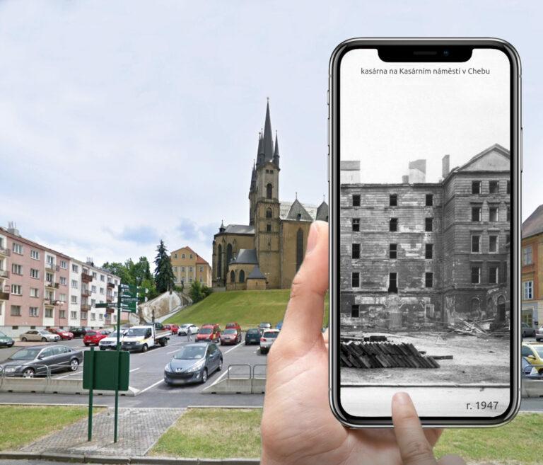 Virtuální prohlídka Kasárního náměstí