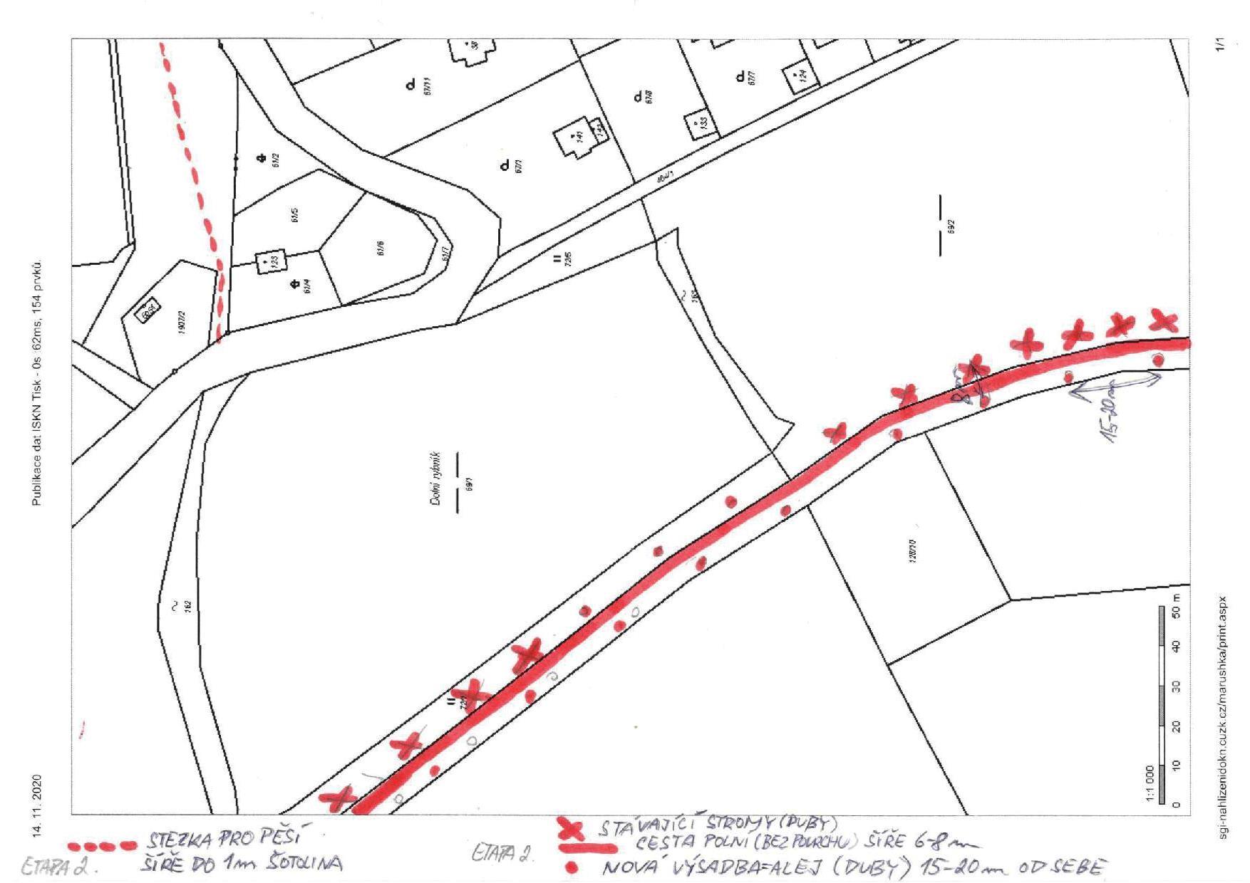Mapa - etapy 1 a 2