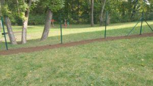 Komunitní zahrada oplocení